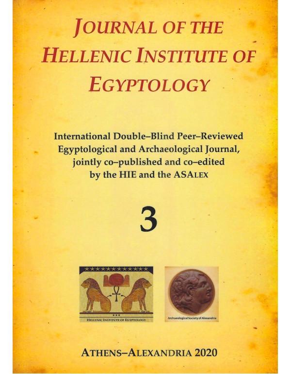 JOURNAL OF THE HELLENIC INSTITUTE OF EGYPTOLOGY - ...